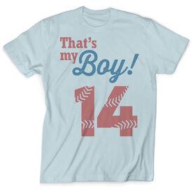 Vintage Baseball T-Shirt - That's My Boy