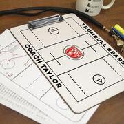 ChalkTalk Guys Lacrosse Custom Coaches Dry Erase Clipboard