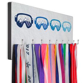 Skiing & Snowboarding Hook Board - Multicolored Goggles