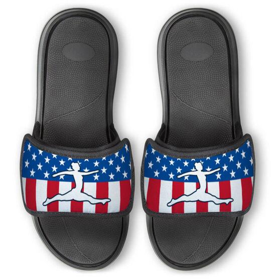 Gymnastics Repwell® Slide Sandals - USA Gymnastics