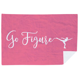 Figure Skating Premium Blanket - Go Figure