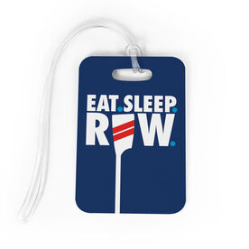 Crew Bag/Luggage Tag - Eat Sleep Row