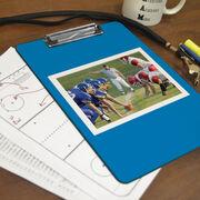 Football Custom Clipboard Football Your Photo Solid Background