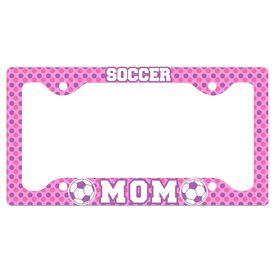 Soccer Mom License Plate Holder