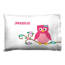 Personalized Pillowcase - Owl