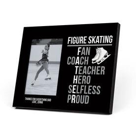 Figure Skating Photo Frame - Figure Skating Father Words
