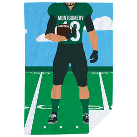 Football Premium Blanket - Football Player