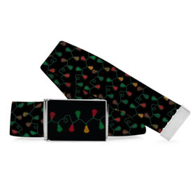 Guys Lacrosse Lifestyle Belt Lacrosse Christmas Lights