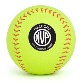 Personalized Softball - MVP Monogram