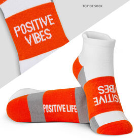 Socrates® Woven Performance Sock - Positive Vibes