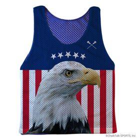Guys Lacrosse Pinnie - Bald Eagle