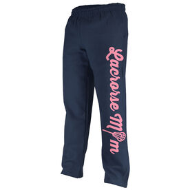 Girls Lacrosse Fleece Sweatpants Lacrosse Mom