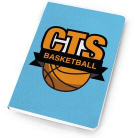 Basketball Notebook Custom Team Logo