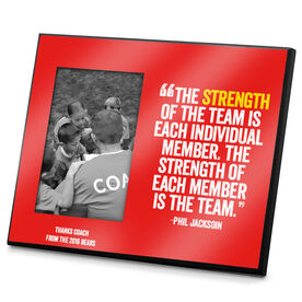 Photo Frame The Strength Of The Team