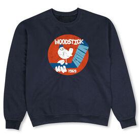 Hockey Crew Neck Sweatshirt - Woodstick