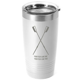 Crew 20 oz. Double Insulated Tumbler - Crossed Oars Icon