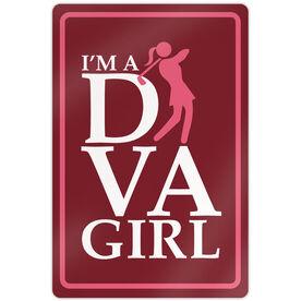 """Golf Aluminum Room Sign (18""""x12"""") I'm a Golf Diva"""