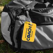 Gymnastics Bag/Luggage Tag - Personalized Coach