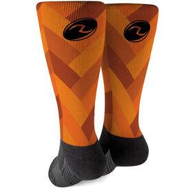 Rugby Printed Mid-Calf Socks - Titan