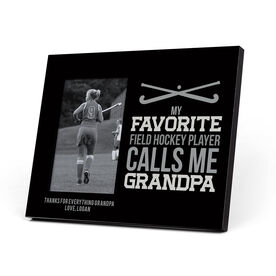 Field Hockey Photo Frame - Grandpa