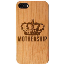 Engraved Wood IPhone® Case - Mothership