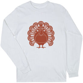 Guys Lacrosse Long Sleeve T-Shirt - Turkey Player