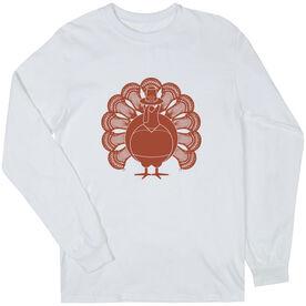 Guys Lacrosse Long Sleeve T-Shirt - Turkey Player