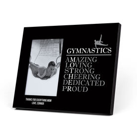 Gymnastics Photo Frame - Mother Words (Guy Gymnast)