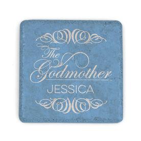 Personalized Stone Coaster - Godmother