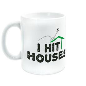 Golf Coffee Mug I Hit Houses
