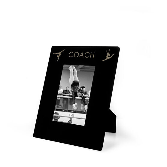 Gymnastics Engraved Picture Frame - Coach