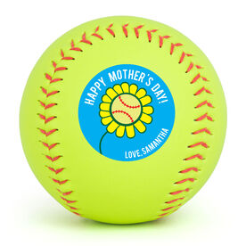 Personalized Softball - Mother's Day