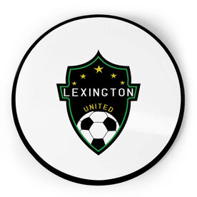 Soccer Circle Plaque - Custom Logo