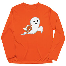 Football Long Sleeve Performance Tee - Ghost
