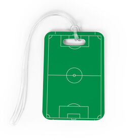 Soccer Bag/Luggage Tag - Field