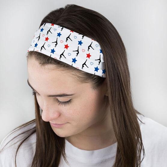 Gymnastics Multifunctional Headwear - USA Gymnast RokBAND