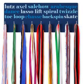 Figure Skating Hooked on Medals Hanger - Skate Mantra
