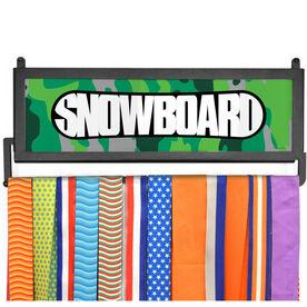 AthletesWALL Medal Display - Top Snowboard