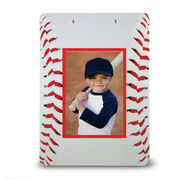 Baseball Custom Clipboard Baseball Your Photo Baseball Stitches