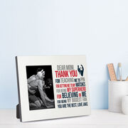 Wrestling Photo Frame - Dear Mom