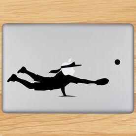 Diving Catch Removable ChalkTalkGraphix Laptop Decal