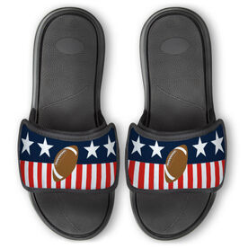 Football Repwell® Slide Sandals - Stars and Stripes
