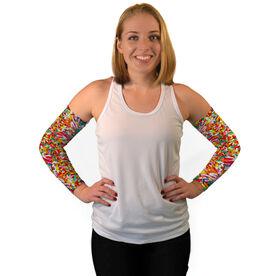 Printed Arm Sleeves Sprinkles