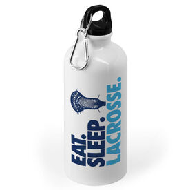 Guys Lacrosse 20 oz. Stainless Steel Water Bottle - Eat Sleep Lacrosse