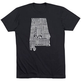 Running Short Sleeve T-Shirt - Alabama State Runner