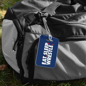 Wrestling Bag/Luggage Tag - Eat Sleep Wrestle