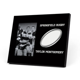 Rugby Photo Frame - My Team Ball