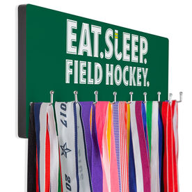 Field Hockey Hooked on Medals Hanger - Eat Sleep Field Hockey