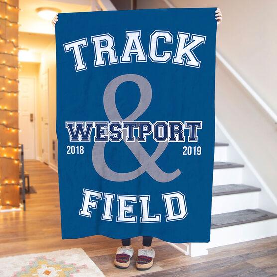 Track & Field Premium Blanket - Track and Field Team
