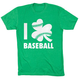 Baseball Short Sleeve T-Shirt - I Shamrock Baseball